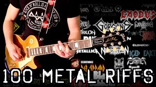 100 Riffs - Greatest Metal Riffs – Part 1 - Karl Golden