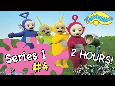 Teletubbies Full Episodes   Series 1, Episodes 21-26   2 Hour Compilation!
