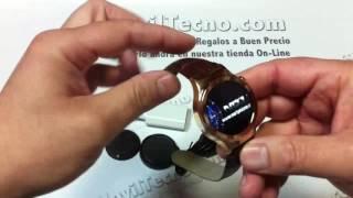 Reloj de pulsera con telefono independiente - MovilTecno.com