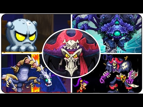 Shantae and the Pirate's Curse - All Bosses