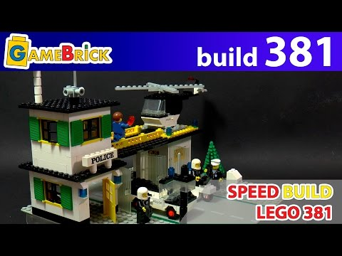 LEGO First Police Station set 3811979 year build review [museum GameBrick]