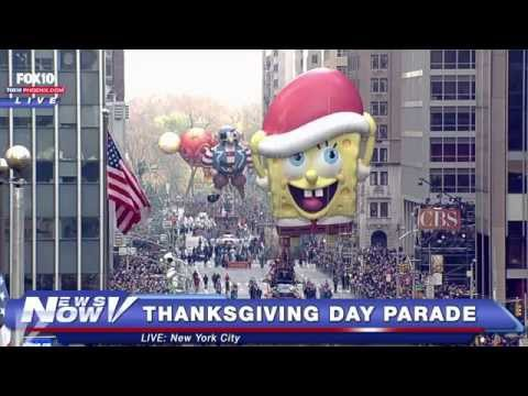 FNN: Macy's Thanksgiving Day Parade in New York City