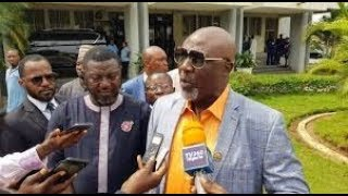 Kogi_Election:_Melaye_Storms_INEC_Office_With_21_Video_Clips,_Demands_Cancellation