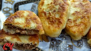 Картофельные  зразы с начинкой из того,что было...Итог- Неимоверная Вкуснятина!