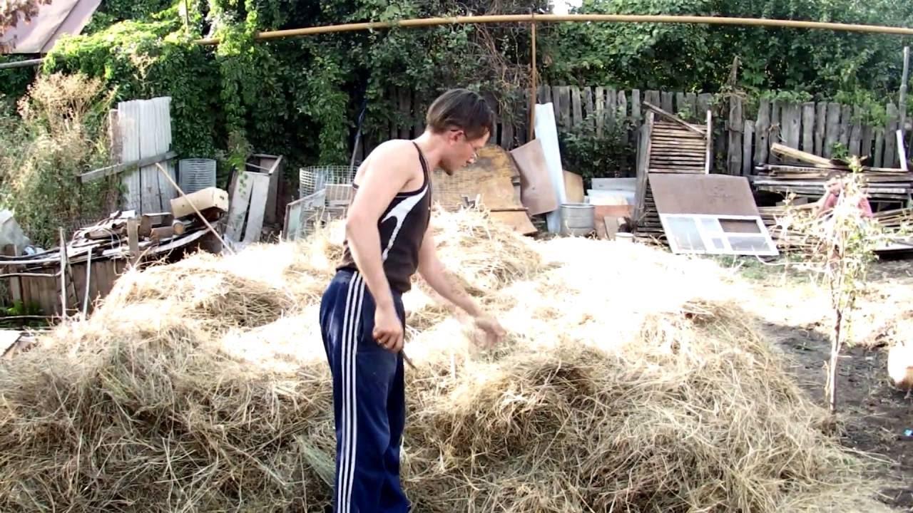 Как сделать стог сена фото 813