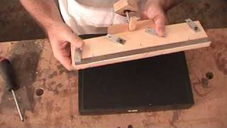 Woodworking Planer Jointer Knife Sharpening Jig