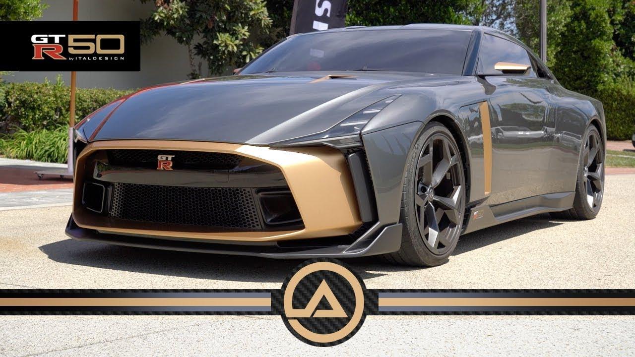 1 Million 710hp Nissan Gtr 50 By Italdesign Youtube