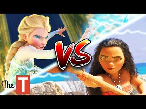 Elsa Vs. Moana Disney Princess Battle: Who Would Win And Why