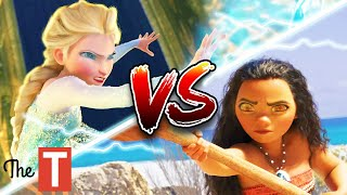 Elsa Vs. Moana Disney Princess Battle: Who Would Win And Why
