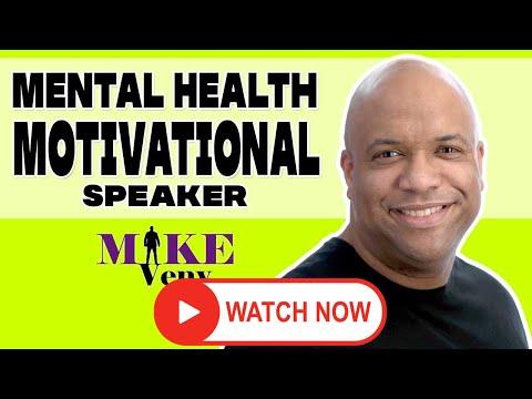 Mental Health Motivational Speaker