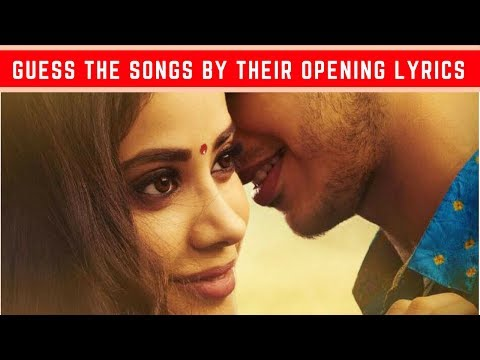 FIRST LYRIC ★ Guess the Songs by Their Opening Lyrics | Bollywood Song Challenge