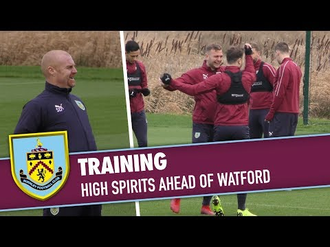 TRAINING | High Spirits Ahead Of Watford