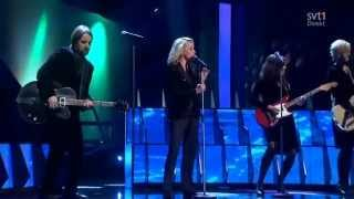 Louise Hoffsten - Only The Dead Fish Follow The Stream (Melodifestivalen 2013)
