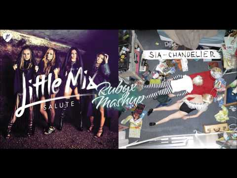 Little Mix Vs. Sia - Salute Vs. Chandelier (Mashup)