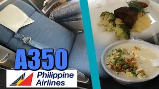Philippines Airlines A350 Business & Economy Class Review - Is it Worth it?