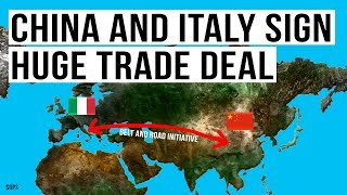 Italy Defies the EU and Signs HUGE Trade Deal With China! Belt and Road Initiative