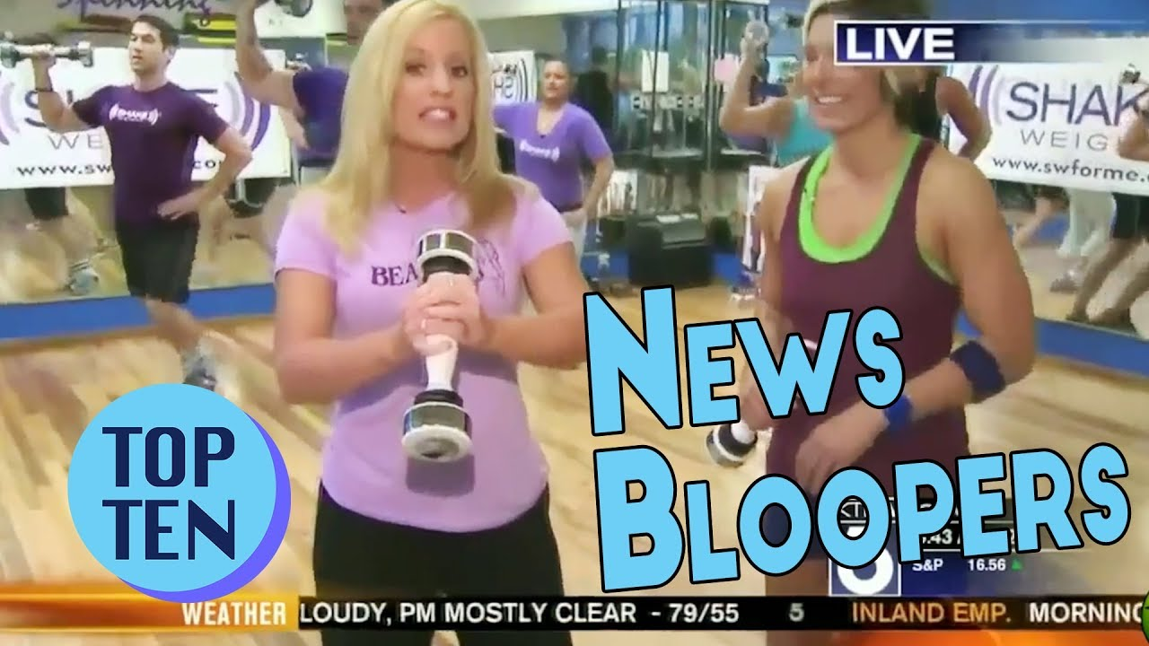 Top 20 Funny News Bloopers of All Time