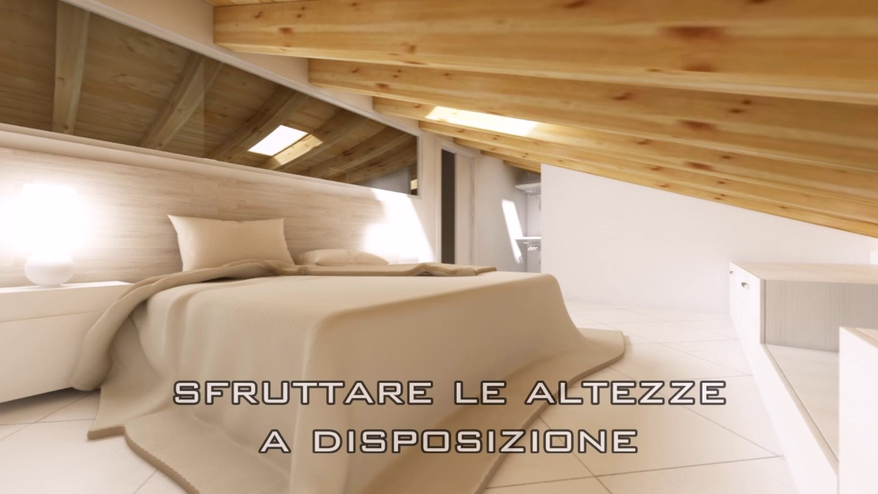 come progettare una mansarda interior design youtube