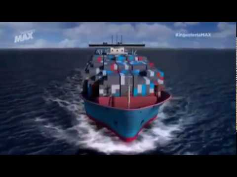 Container ship Triple E Class - Motor 2/4
