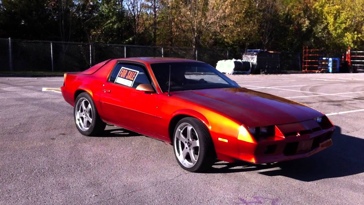 1982 camaro berlinetta 305 with 350 turbo trans youtube. Black Bedroom Furniture Sets. Home Design Ideas