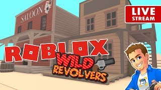 Roblox Wild Revolvers LIVE! | Road to 5K | Roblox Mini Game | Playing Roblox Kid Friendly