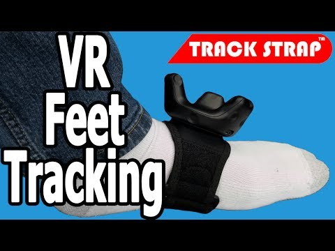 DDR IN VR   Full FEET tracking with TrackStraps! - HTC Vive