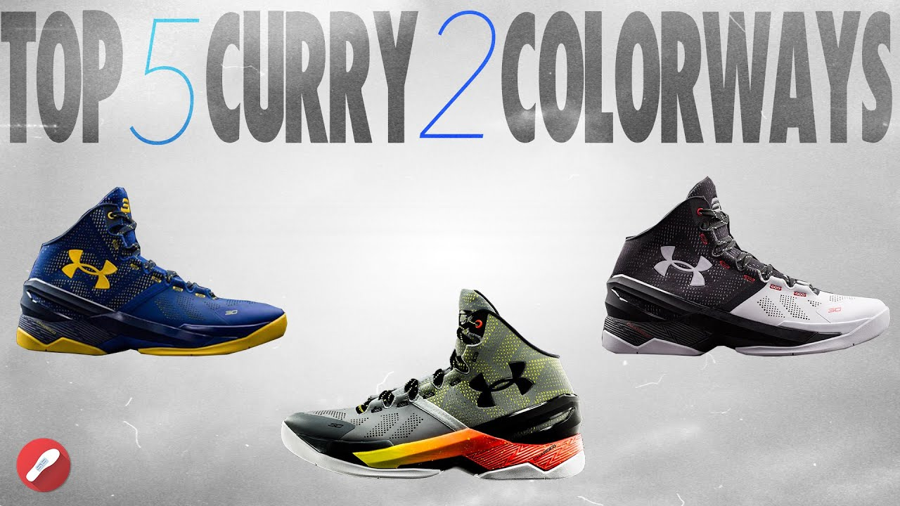 c8bf212fd45 ... france top 5 curry 2 colorways underarmour youtube 1f768 cab7d