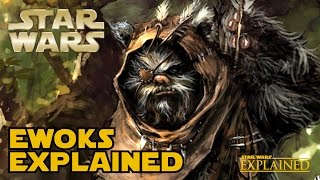 ewoks creature history canon star wars explained