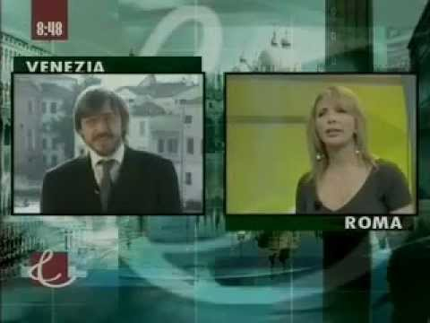 Gold Mercury Awards 2006 - Giovanni TV Interview for Dr Robert Gallo Award Event