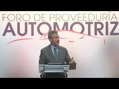 Inauguración de la 3ra. edición del Foro de Porveeduría Automotriz Guanajuato 2016