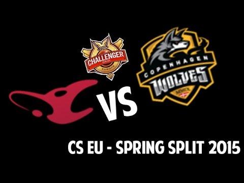 Mousesports vs Copenhagen wolves - CS EU 2016 - Spring Split - Week 5 - Game 2 - FR