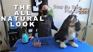 The All Natural Look Step By Step | Cavalier King Charles