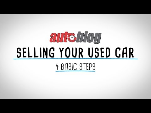 How to sell your used car | 4 basic steps