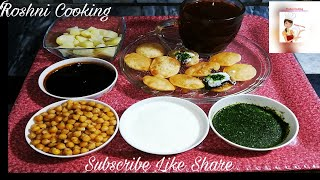 Chat patty Crispy Gol Gapay/by Roshni Cooking