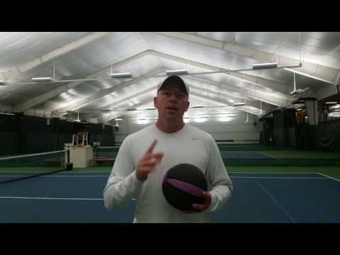 TENNIS FITNESS | Developing Serve Power | Online Tennis Instruction