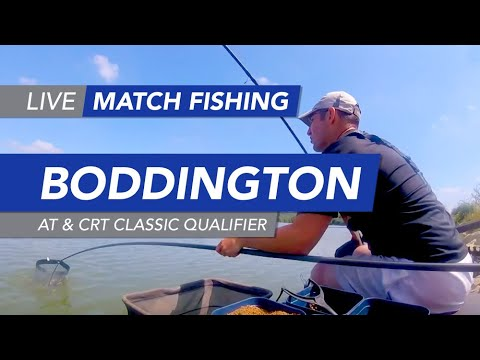 Live Match Fishing: Boddington Reservoir, AT & CRT Classic Qualifier