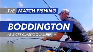 Live Match Fishing: Boddington Reservoir, AT & CRT Classic Qualifier