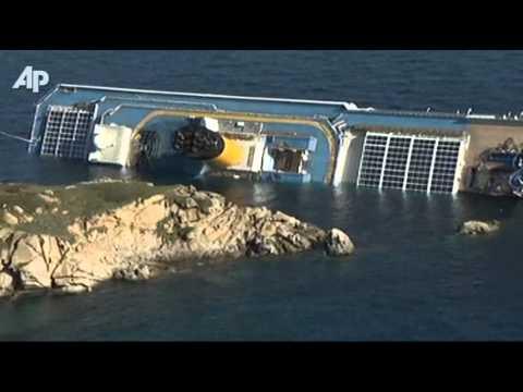 Cruise Ship Runs Aground Off Italy