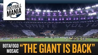 "Beautiful Mosaic in the Maracanã stadium - Botafogo ""The Giant is back"""