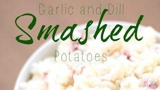 Smashed Potatoes | Side Dish | Six Sisters Stuff