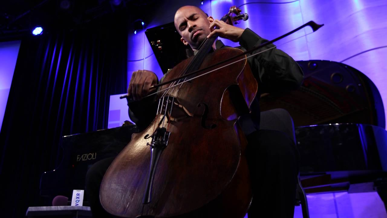 Khari Joyner plays Bach's Cello suite No. 5 in C Minor, BWV 1011: Sarabande