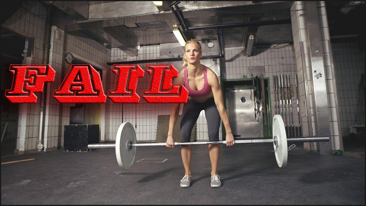 Gym Fail || Workout Fails Women Compilation Part 1 - YouTube