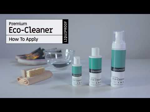 HOW TO APPLY: Liquiproof LABS Eco-Cleaner To Footwear