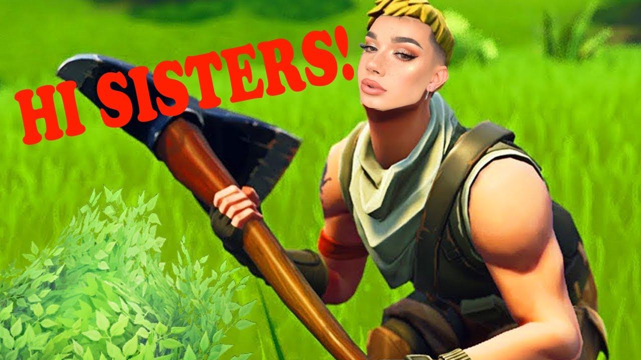 HI SISTERS! Fortnite Meme Montage - YouTube