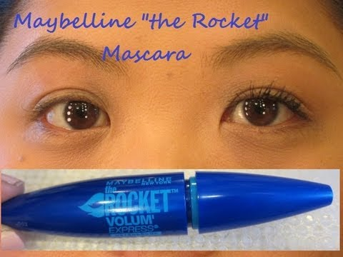 """Maybelline """"the Rocket"""" Mascara First Impressions Review & Demo"""