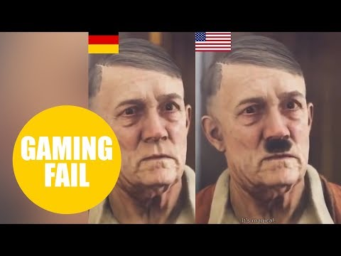 Developers Of New Wolfenstein Game Have Censored Hitler For German Release By Removing His MOUSTACHE