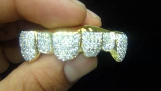 Custom Grill 10K Real Gold !!We take  Custom Grill Orders(M4H06595)