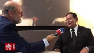 Entrevista Exclusiva Com O Vice-presidente Do Brasil, Hamilton Mourão