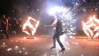 Фаер шоу г. Ромны 2017г.