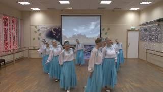 Хореографический коллектив ЛУЧИНУШКА - Белорусский хоровод «Перепёлочка»